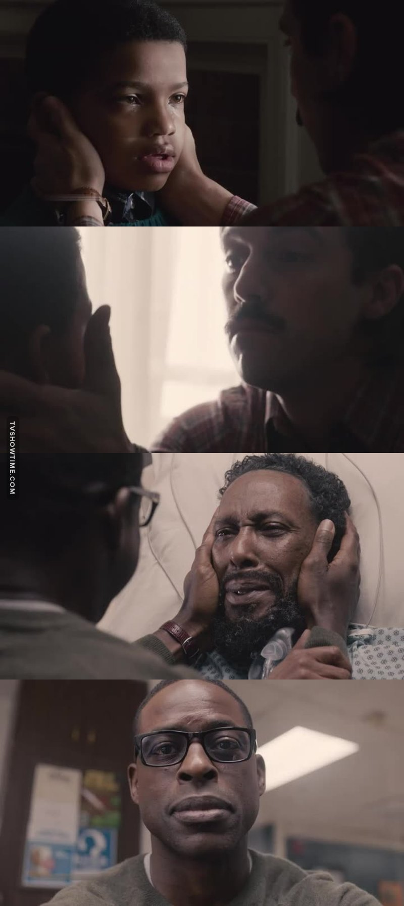 Poor Randall had to deal with the death of both his fathers 😭😭😭😭  I had a feeling this was going to happen based on last week's preview. But that didn't stop me from bawling.........