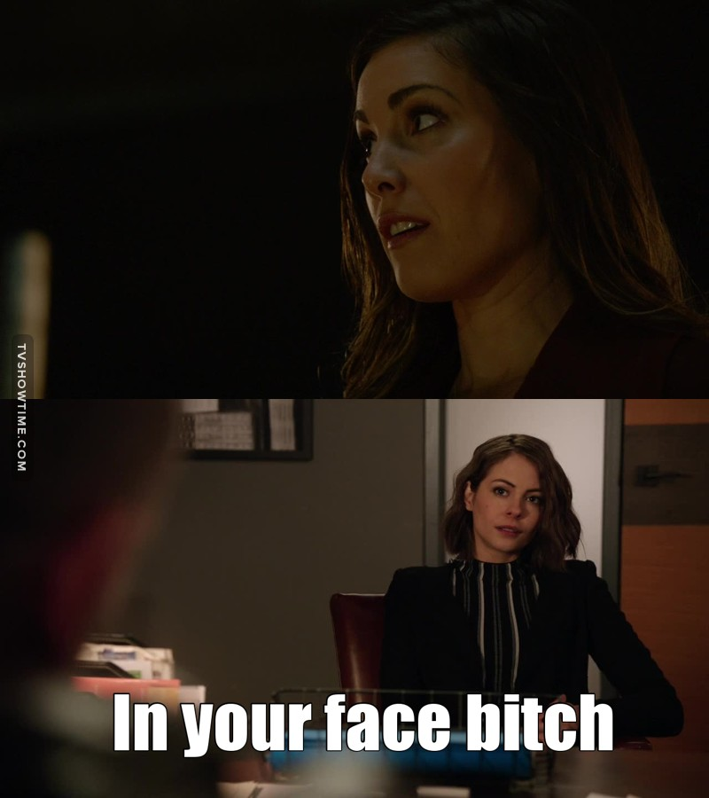 Susan, honey, who just simply don't screw with Thea!!