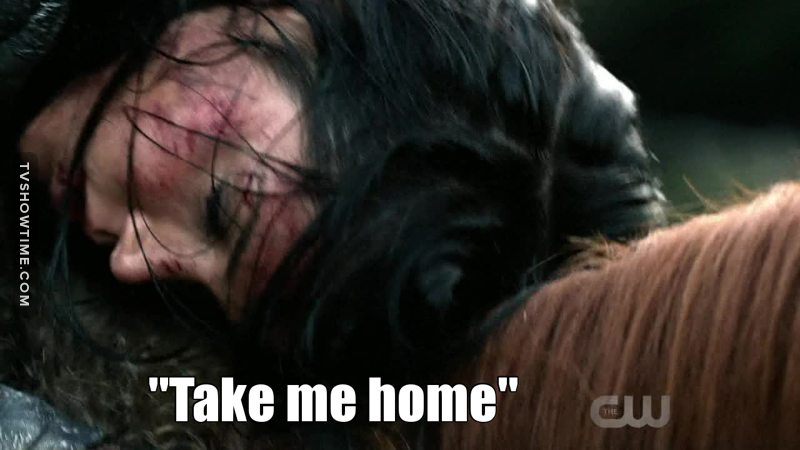 Finally Octavia can considerate somewhere as home. 😭❤️