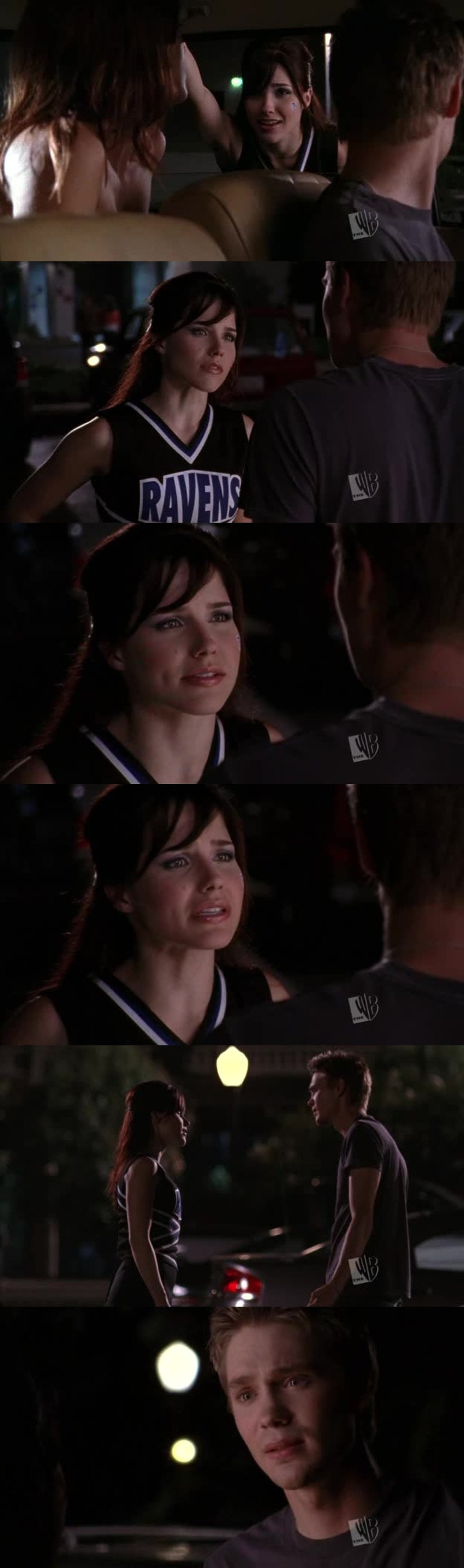 """""""In the back seat of the car is so two years ago""""  I love Brooke"""
