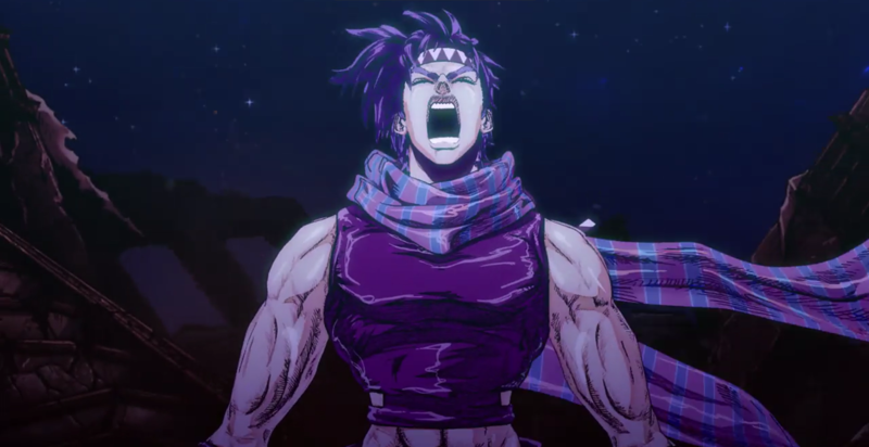 Well, the opening just told everything from episode 10 (JoJo puts on himself Caesar's bandana and then screams) ..