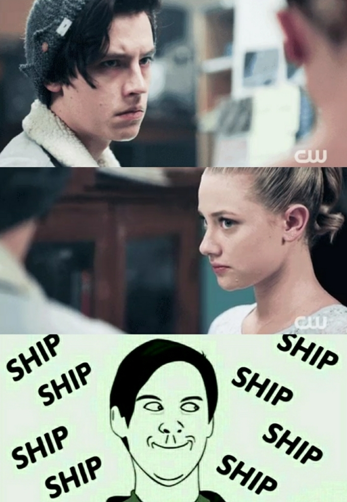 I am starting to ship Betty and Jughead