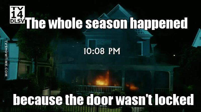 Lock your doors 😂😂