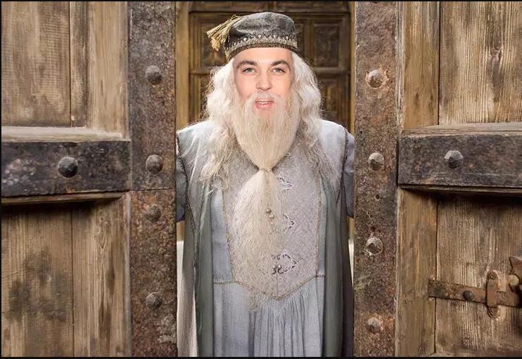 Sheldon as Dumbledore!!!