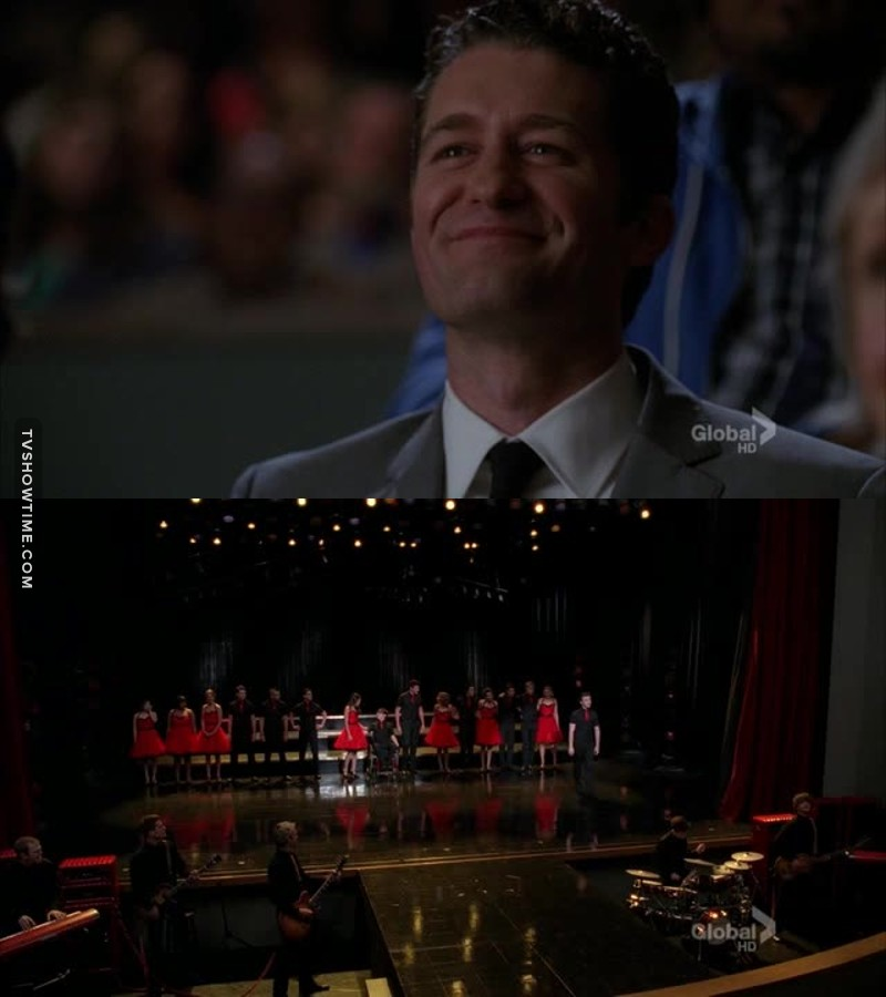 He is so proud of them and I cried a lot