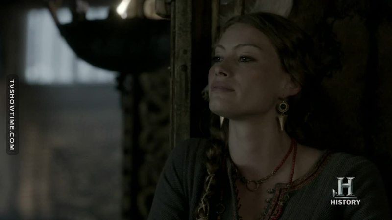 So Aslaug is jealous. Oh the irony...