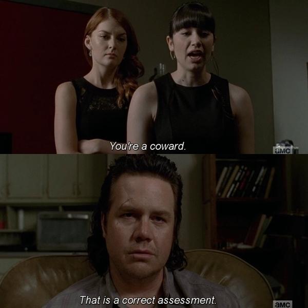 I love how cynical Eugene is hahaha