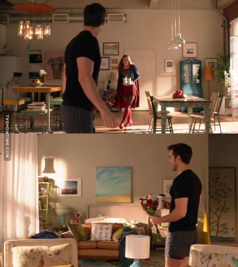 The moment when Kara becomes the man of the relationship: