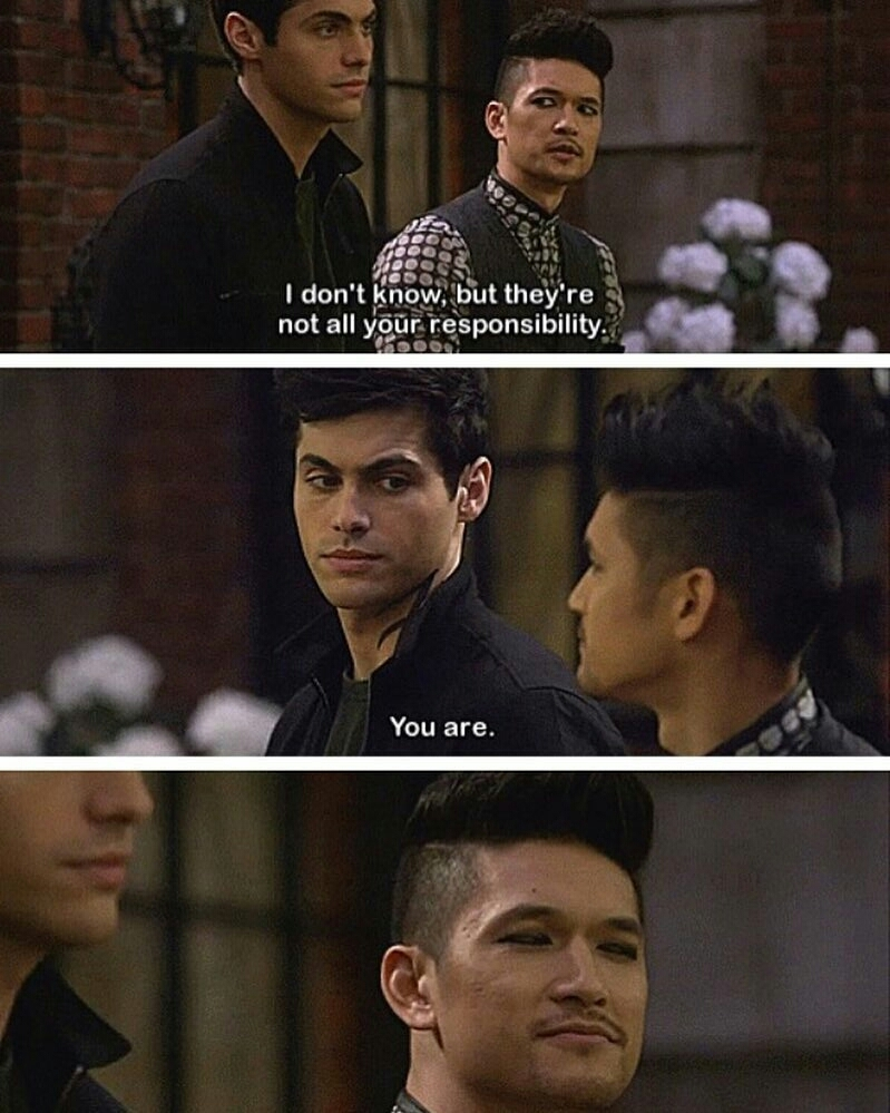 Malec protecting each other is my favorite thing ❤😊
