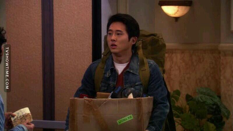 O Gleen preferiu participar de um Apocalipse zumbi que ser colega de quarto do Sheldon