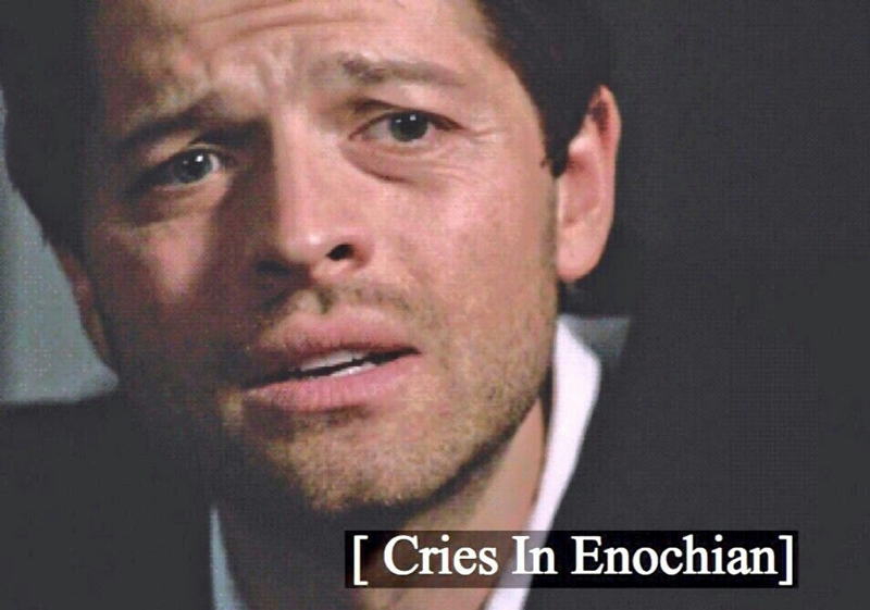 Mary: Dean, you are not a child. Dean: I never was   Me: