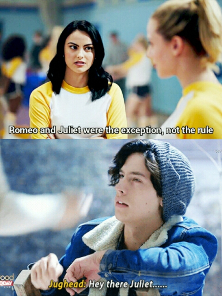 can you believe bughead invented the meaning of otp