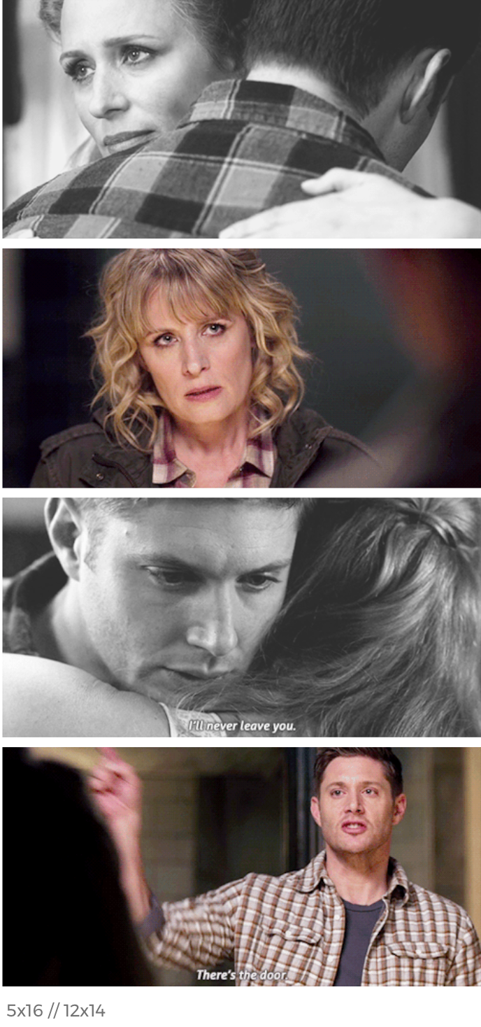 """What a poignant and heartbreaking scene, along with Sam telling Mary, """"You should go."""" 😢"""
