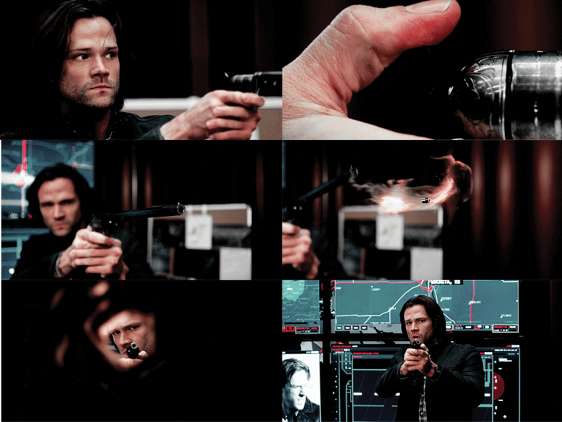 Badass Sammy. 😎 I live for slow motion scenes of someone firing the Colt.