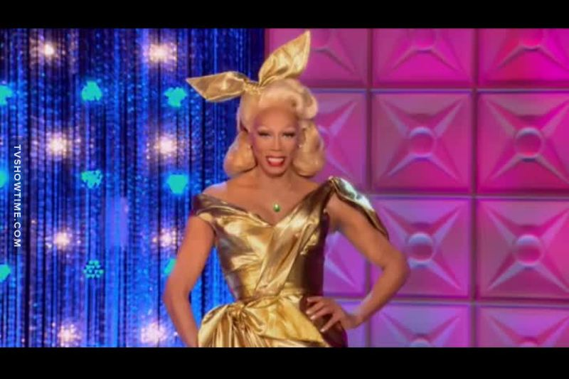 this is one of my fav looks from Ru.