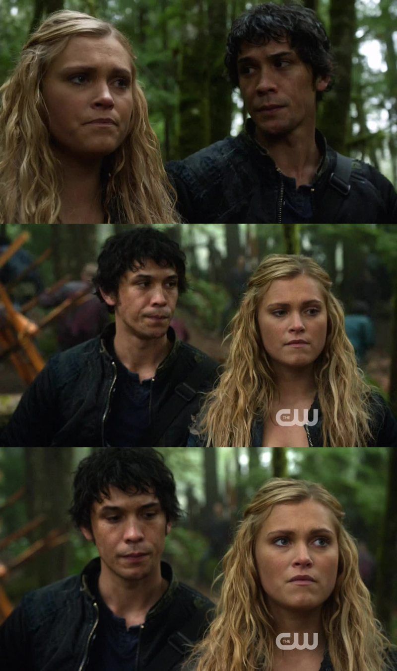 Shipping Bellarke more and more every episode!