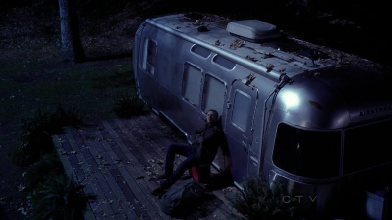 I love how everyone gets to spend a night in the trailer