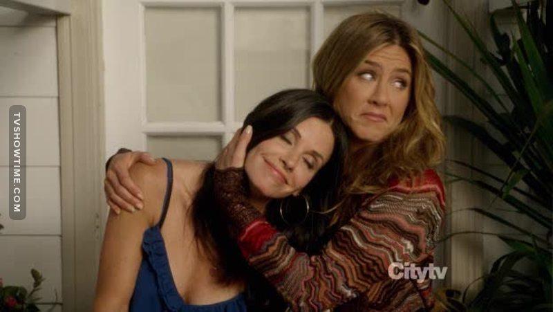 Monica and Rachel!!!!! BFFs 👭😭