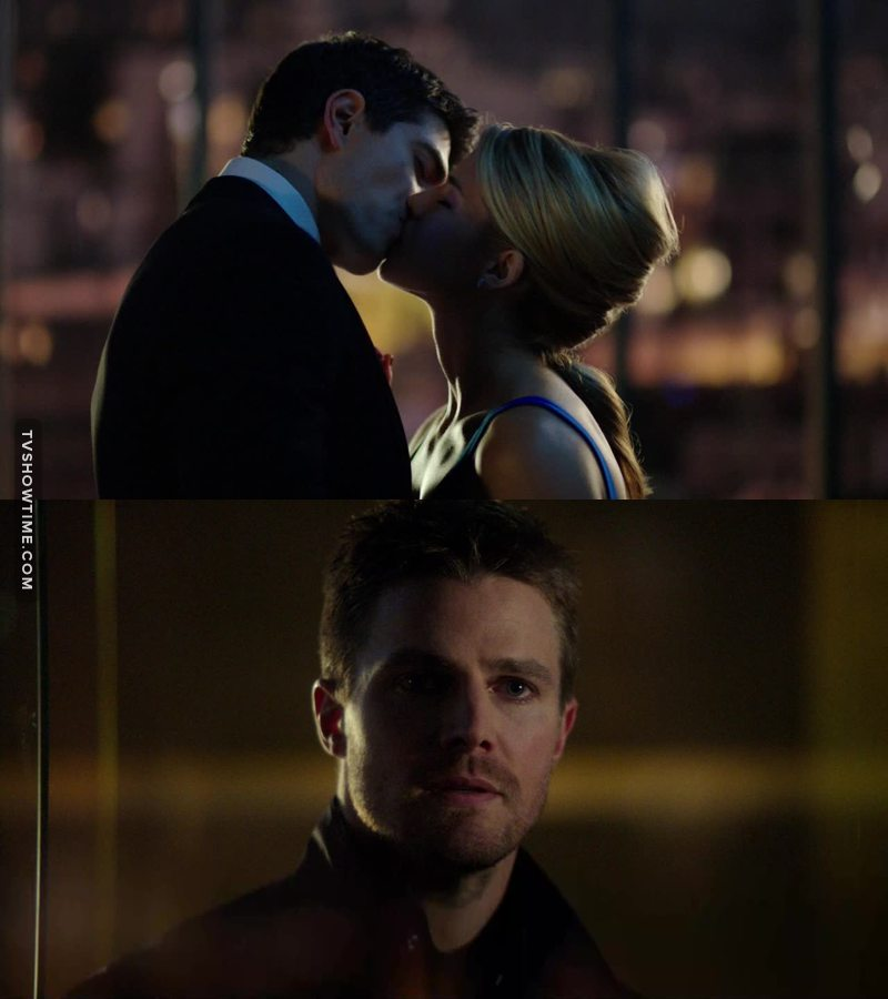 I ship Olicity, but  I can't blame her. Oliver had sex with every woman in this show , the least he can do is let her try to be happy without him.😒