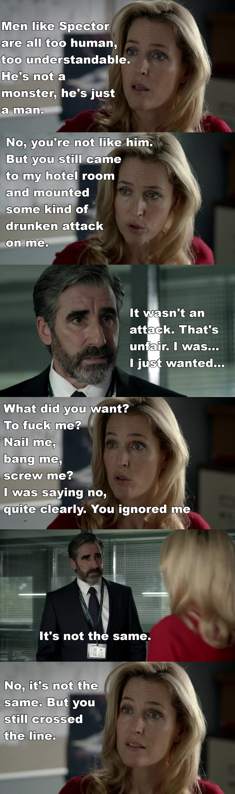Another of those dialogues with Stella that Jim should think a hundred times before starting them....
