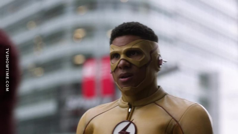 Wally. The biggest Idiot in the history of cable TV. Finds out about how Barry is trying to save Iris, goes right up and screws Barry over.