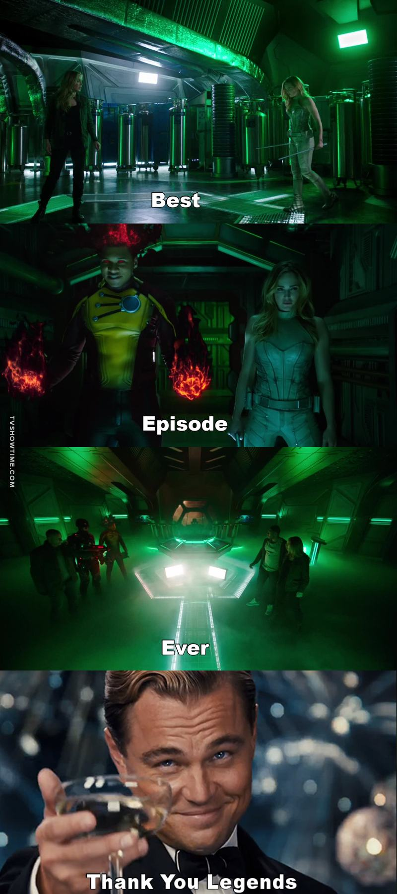 This was probably the best episode so far, even though every episode of Legends of Tomorrow is epic! 👌👏