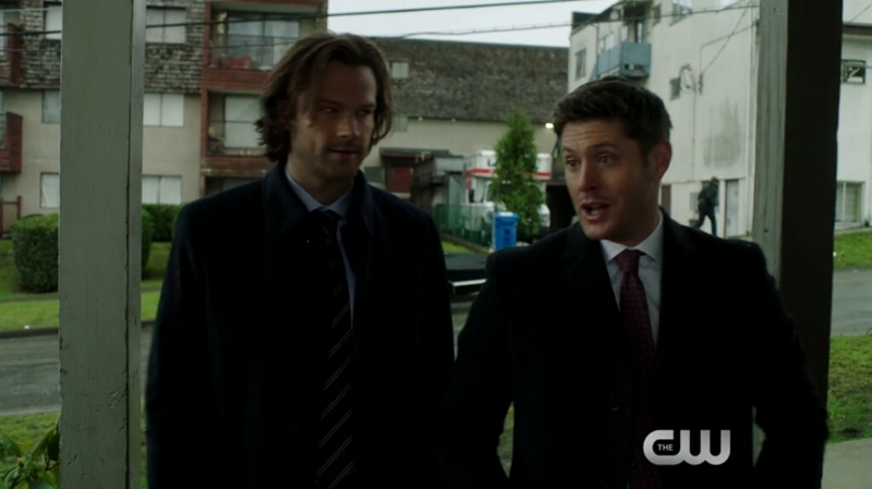 """Hello , my name is Sam Winchester and this is my much handsomer brother Dean"""