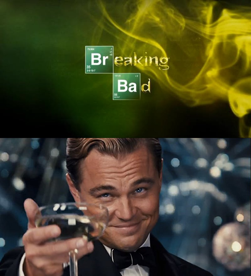 """I should have started this show months ago, it's one of the best I have ever seen.. soooo, to that friend that kept telling me: """"Watch Breaking Bad!"""" I say YOU WERE RIGHT, I WAS WRONG.  CHEERS!"""