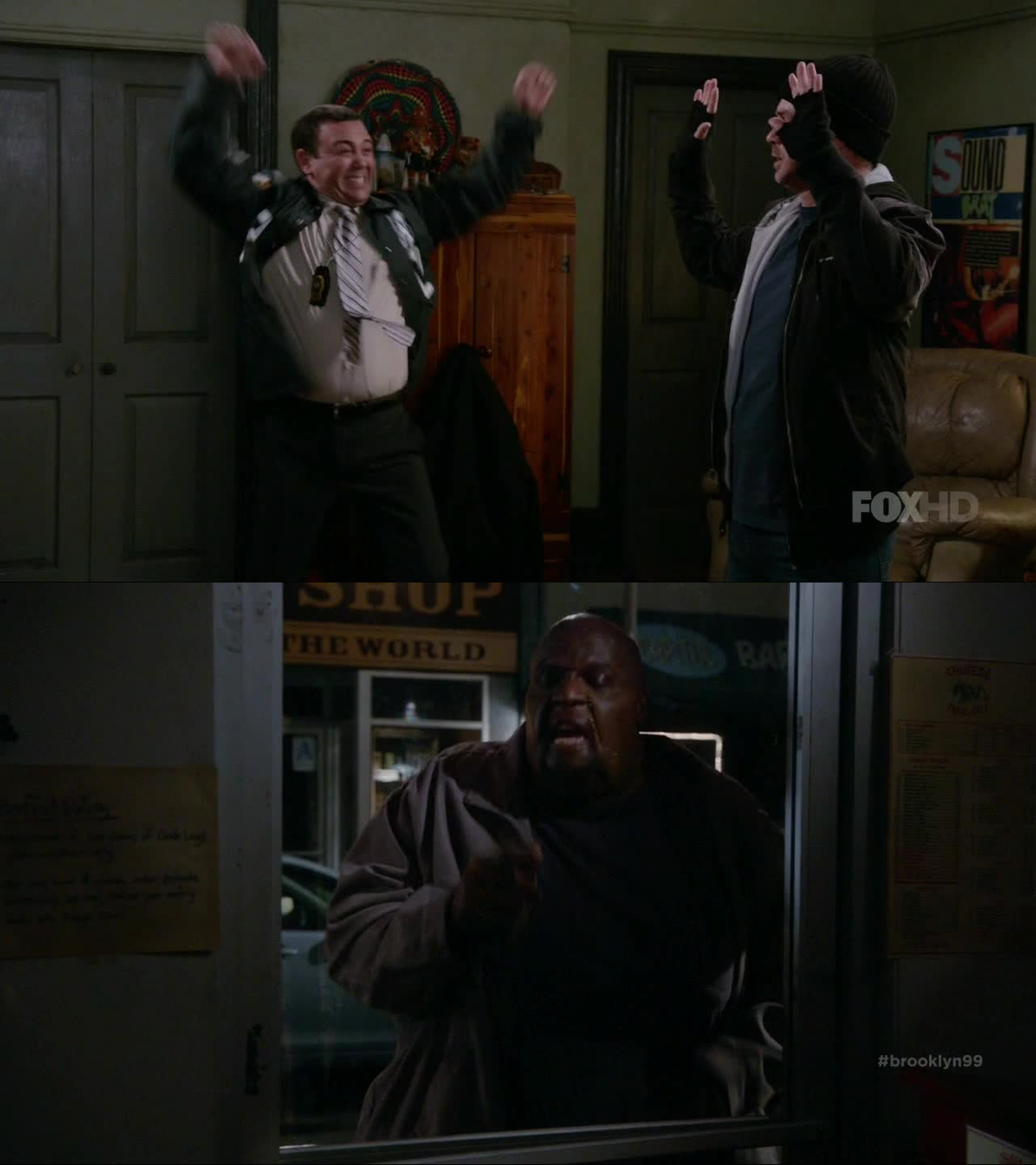 Charles is way too awesome for his own good and I never thought I'd ever see a fat Terry Crews. Another great episode!
