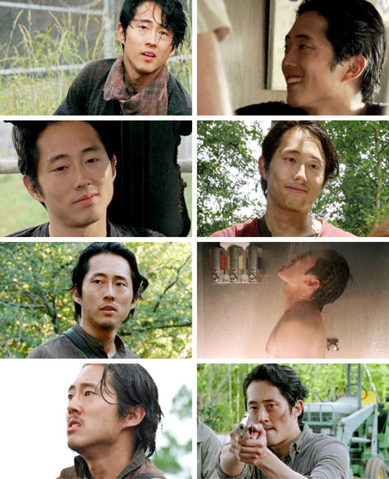 I really miss him, the show is not the same without Glenn 😭