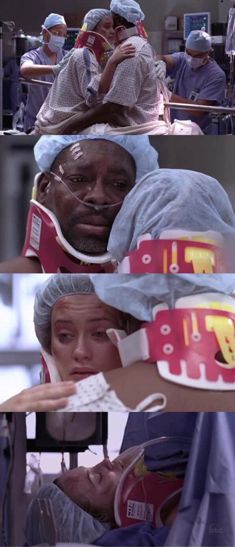 Eu ainda tinha esperança de que ela sobrevivesse.  😔😢😭