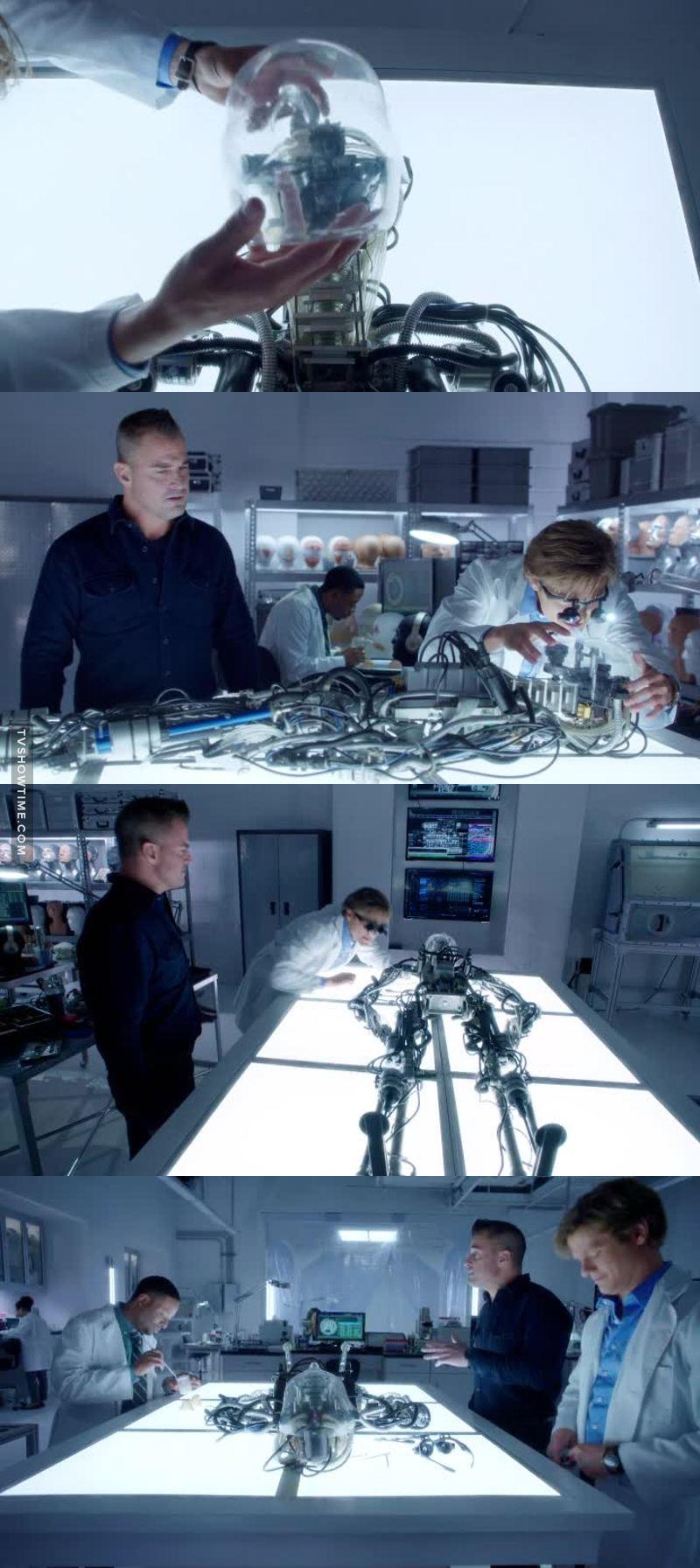 Aquele momento em que isso me faz lembrar de Agents Of SHIELD....... 🤖