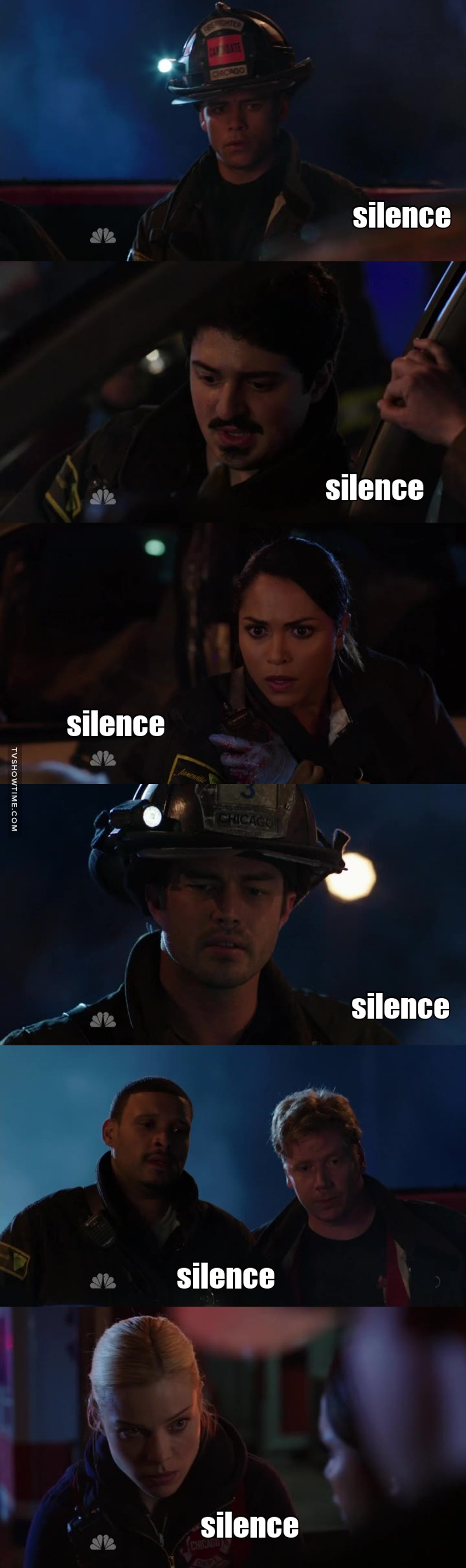 Explosive silence
