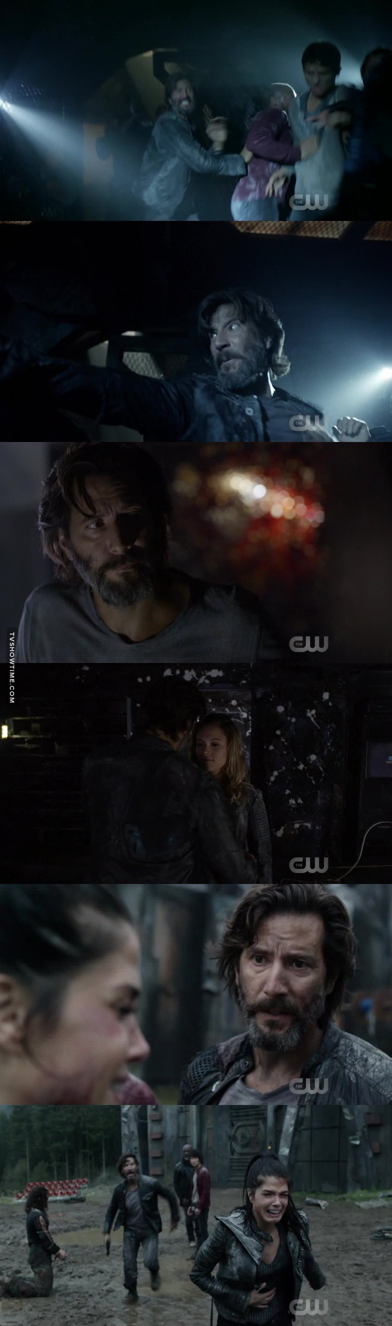 OMG Kane being a dad to EVERY FUCKING PERSON 😭😭 HOW CAN YOU NOT LOVE HIM. He won't ever replace Clarke's dad or anyone else's, but still HE IS A FUCKING GREAT DAD ❤