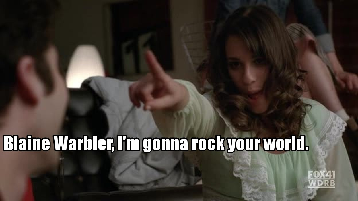 :DD Rachel :´D My fav episode ever