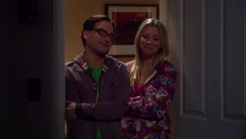 Sheldon's proud parents :) So Sweet !!