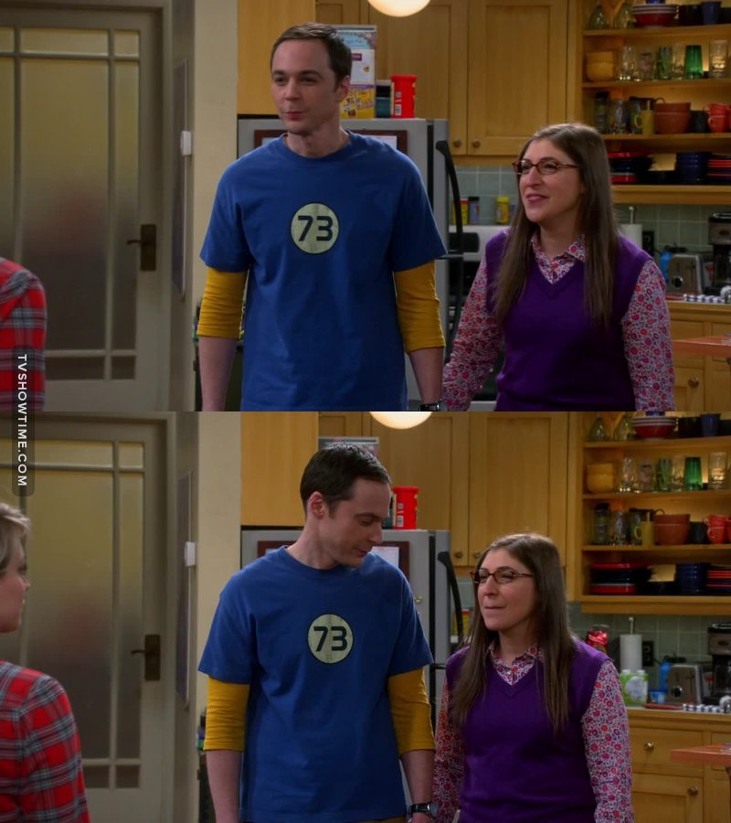 They are so cute, I am so proud of Sheldon aww