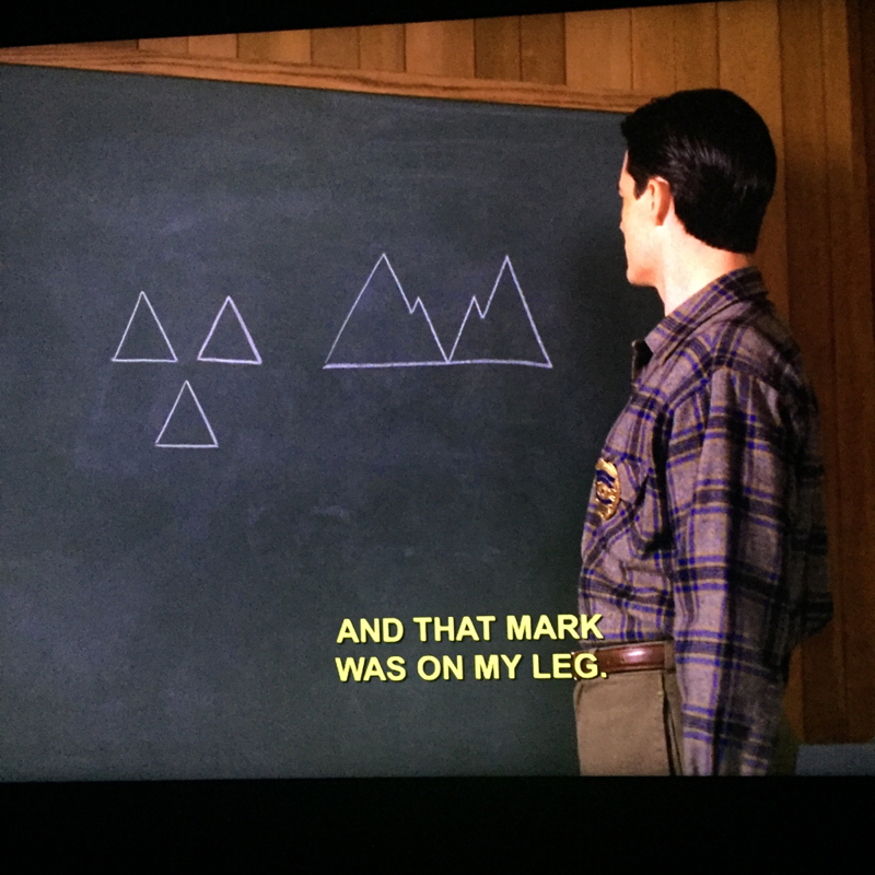 """are those not """"twin peaks"""" ?? 😂"""