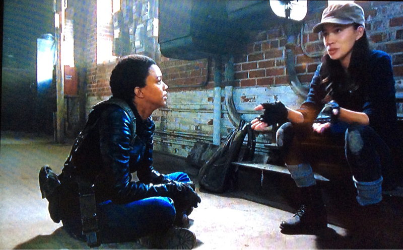 I liked that moment between Sasha and Rosita...