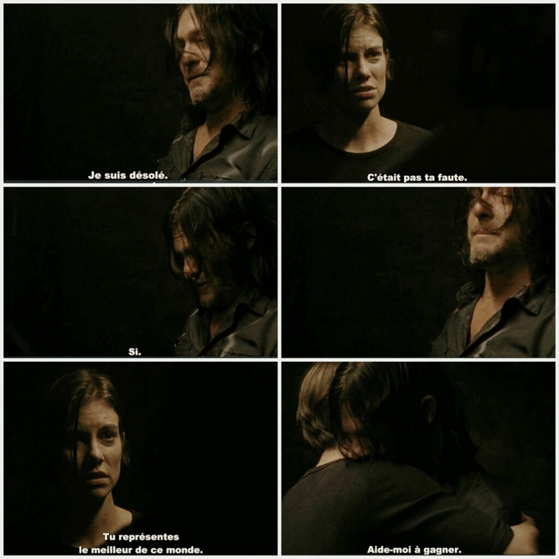 J'attendais cette scène depuis longtemps... Maintenant mon coeur est en miettes.  Les acteurs m'ont carrément trop émus 😍