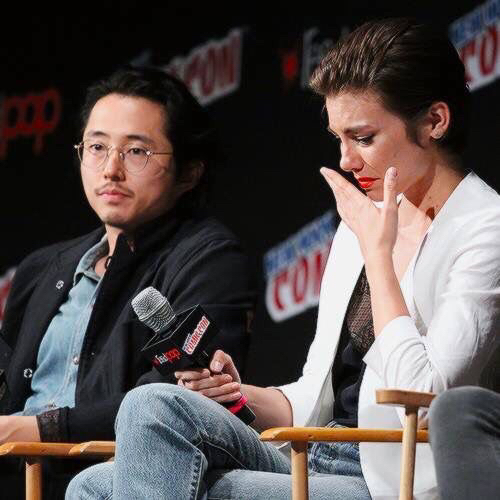 Every time they mentioned Glenn 💔💔💔