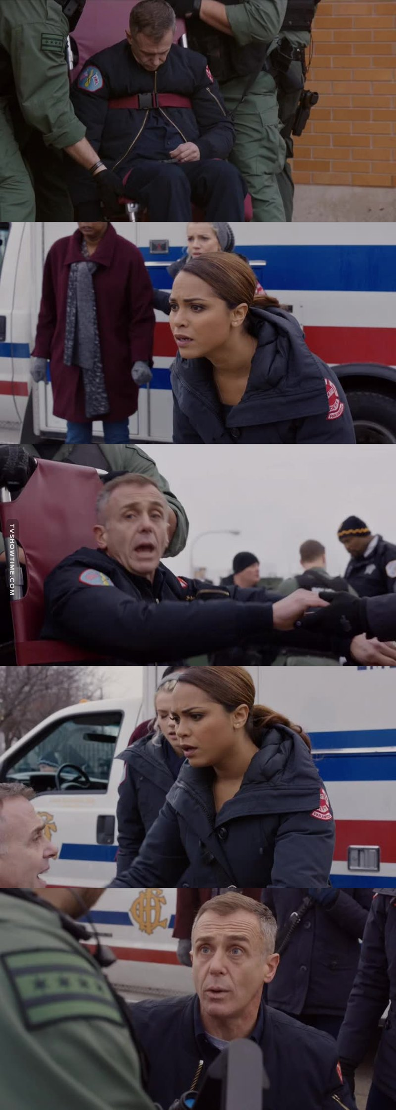 Herrmann faking his heart attack was genius! Loved this episode (: