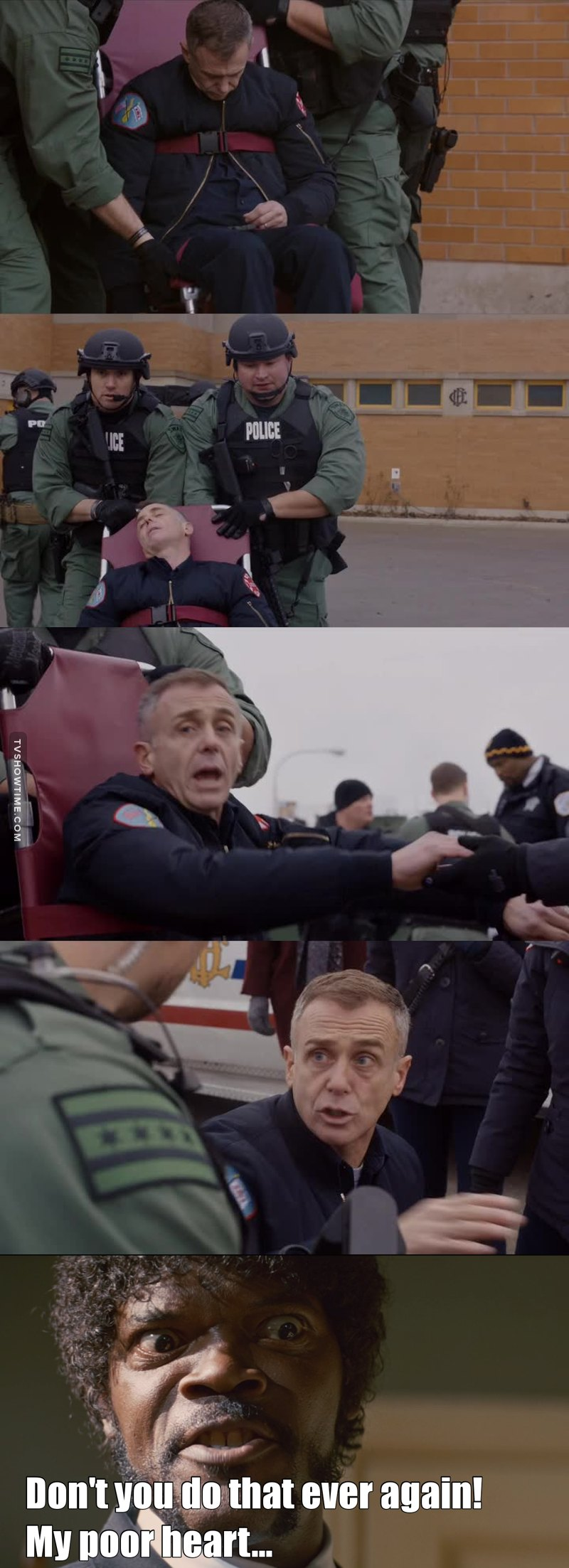 My poor heart... i had the feeling this wasn't going to end well... but thank god everything is allright... 🙌🏻 #ChicagoFire #DamnYouHermann