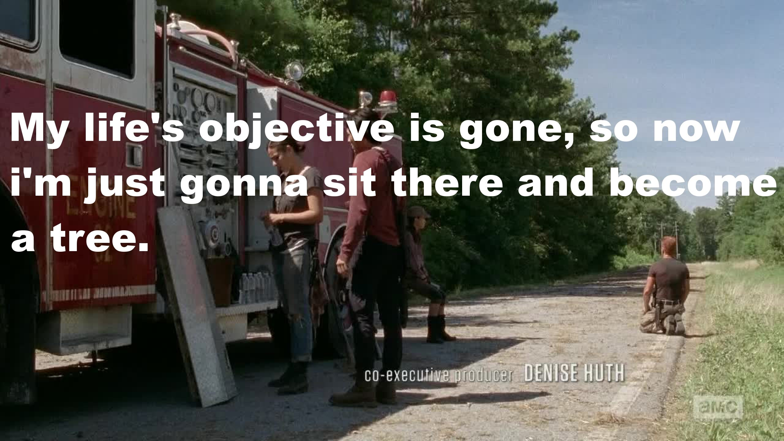 that pretty much sums up Abraham in this episode.