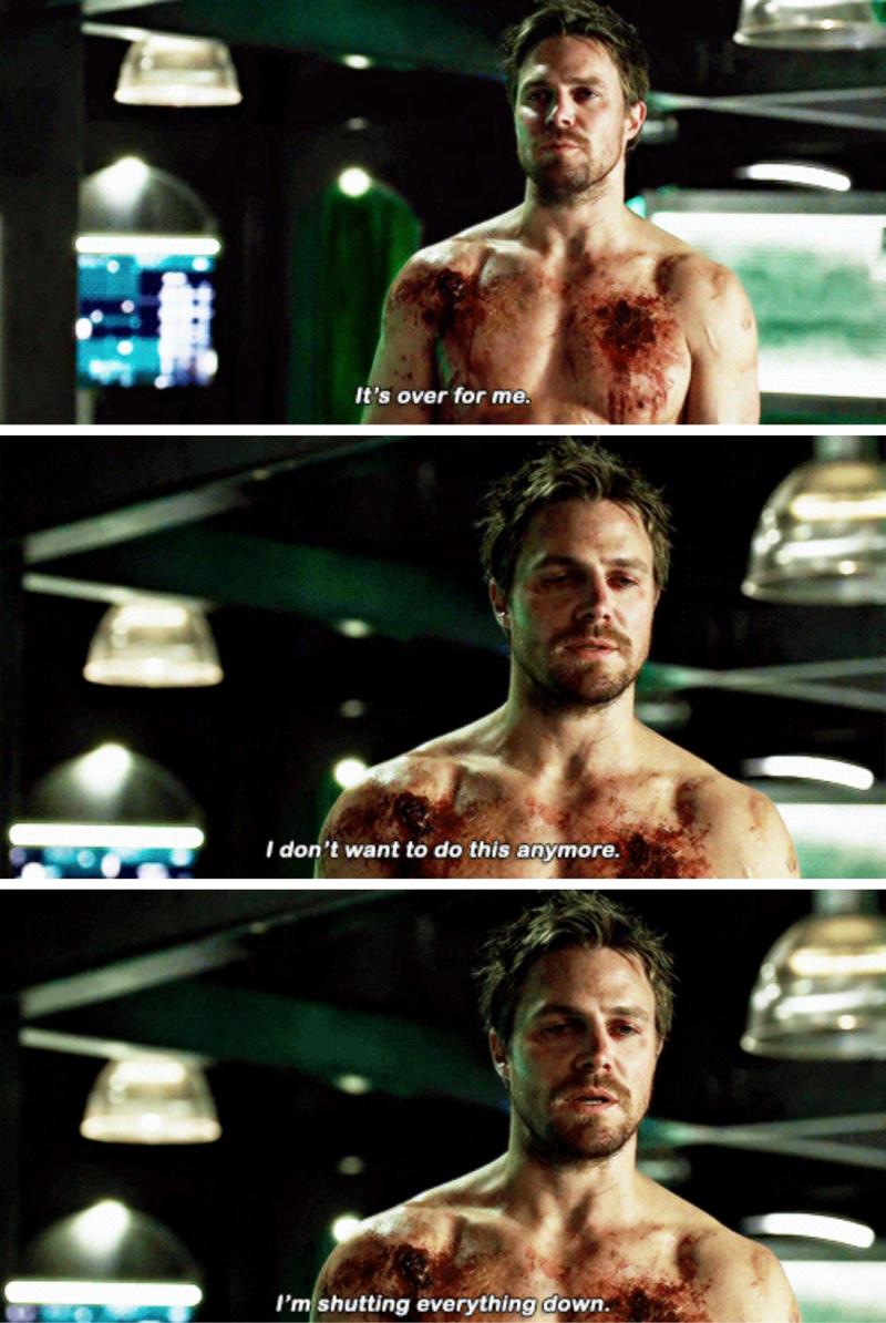 this scene... 💔 Prometheus broke him.