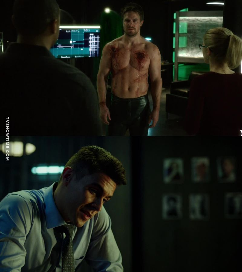 That episode had everything. Promitheus is the best villain so far. I hate him of course but I have to admit that he has a point. He didn't kill Oliver. He broke him in so many levels and he got him to admit the one thing that Oliver was afraid of. That he likes to kill . And that's the Arrow, I loved. 👏👌