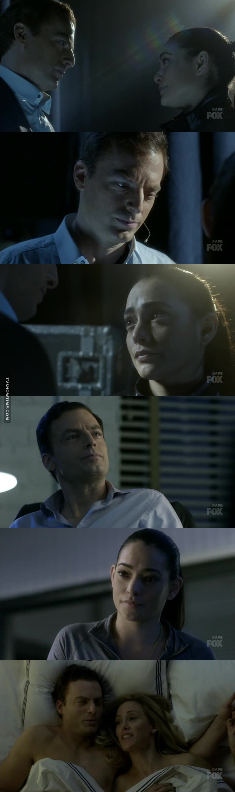 I can feel the chemistry between these two through my computer.. And then at the end with him and Laurel or what her name was, ugh.