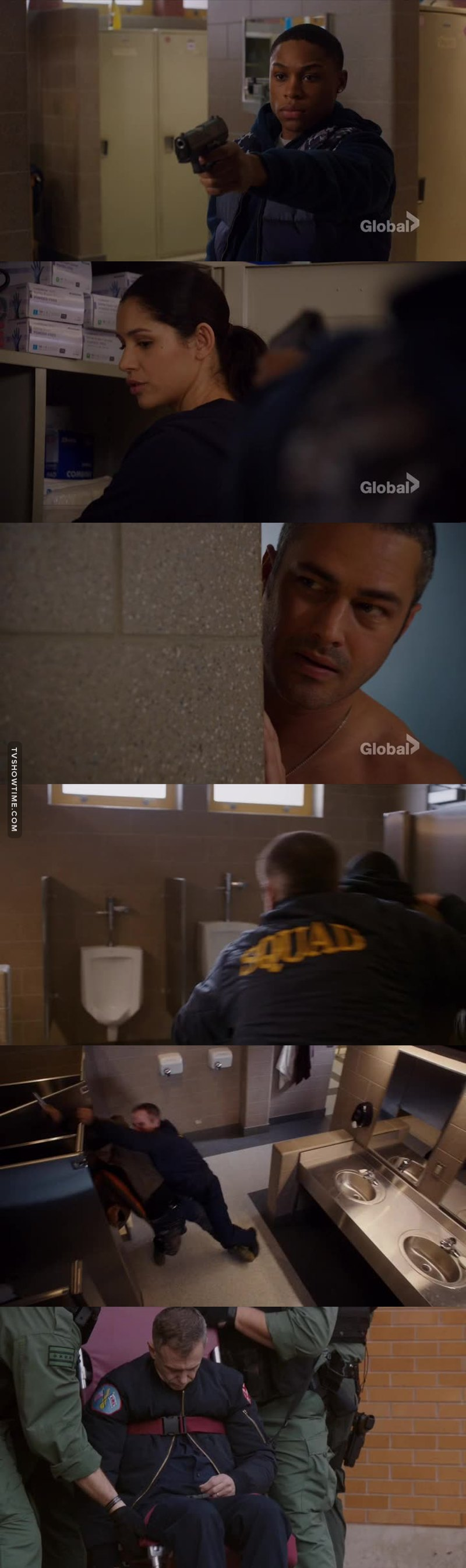 Wow! Between Hermann faking the heart attack and Severide being the hero... huge episode!