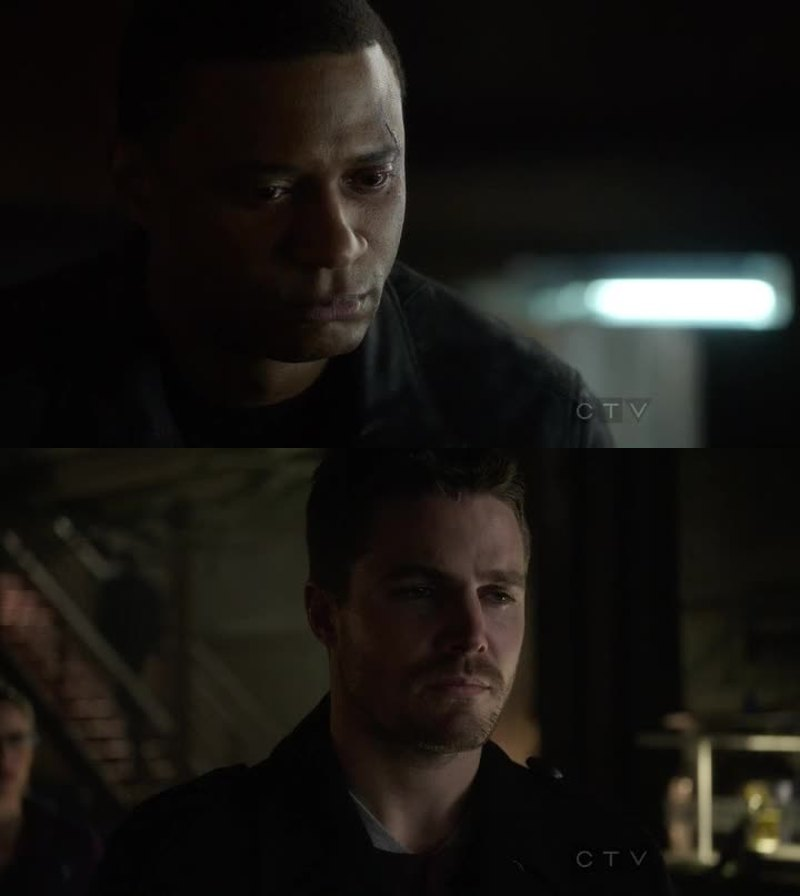 It hurts to see Dig and Oliver falling out. Like I'm not ok at all