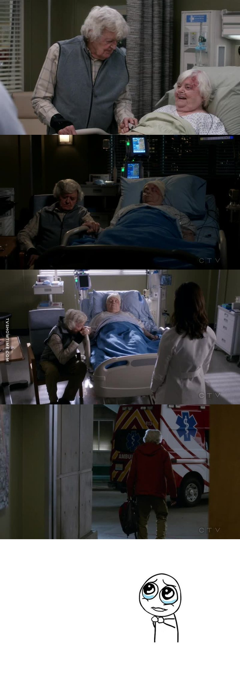 I've missed the old grey's where the patient's storylines were important as well